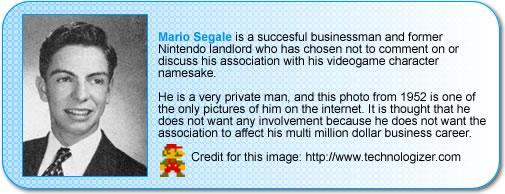 About Mario Segale, the namesake of Super Mario