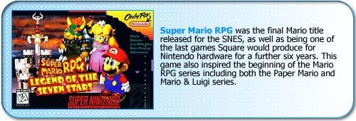 More information about Super Mario RPG