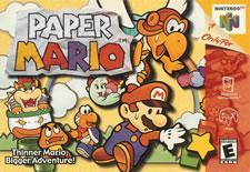 Paper Mario for the N64