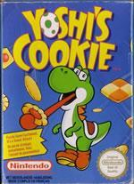 Yoshi cooks up some fresh delights on the NES in Yoshi's Cookie