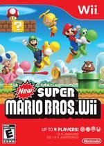 New Super Mario Bros Wii box cover