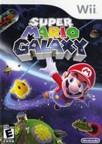 Super Mario Galaxy Wii box cover