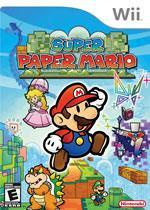 Super Paper Mario box cover