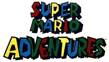 Super Mario Adventure comics logo