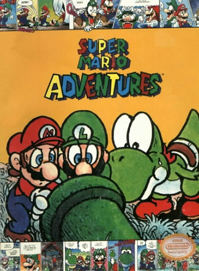 Super Mario Adventures Comic cover